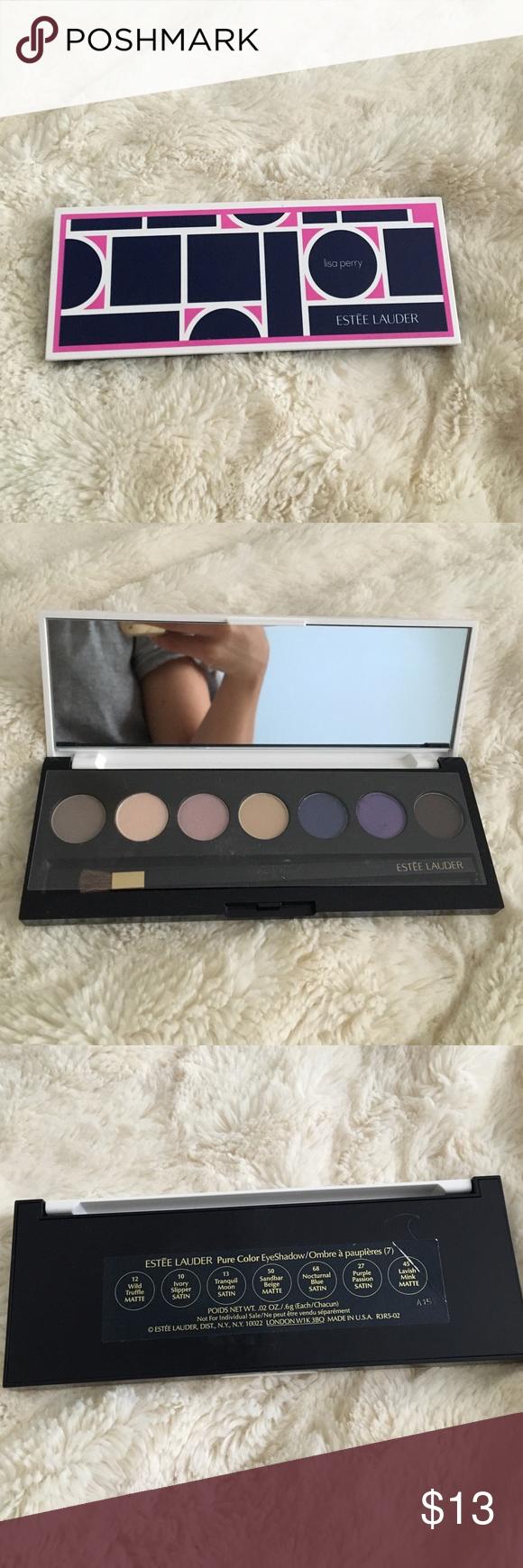 Lisa Perry Estée Lauder Pure Color Eyeshadow Beautiful palette. Used once. Estee Lauder Makeup Eyeshadow