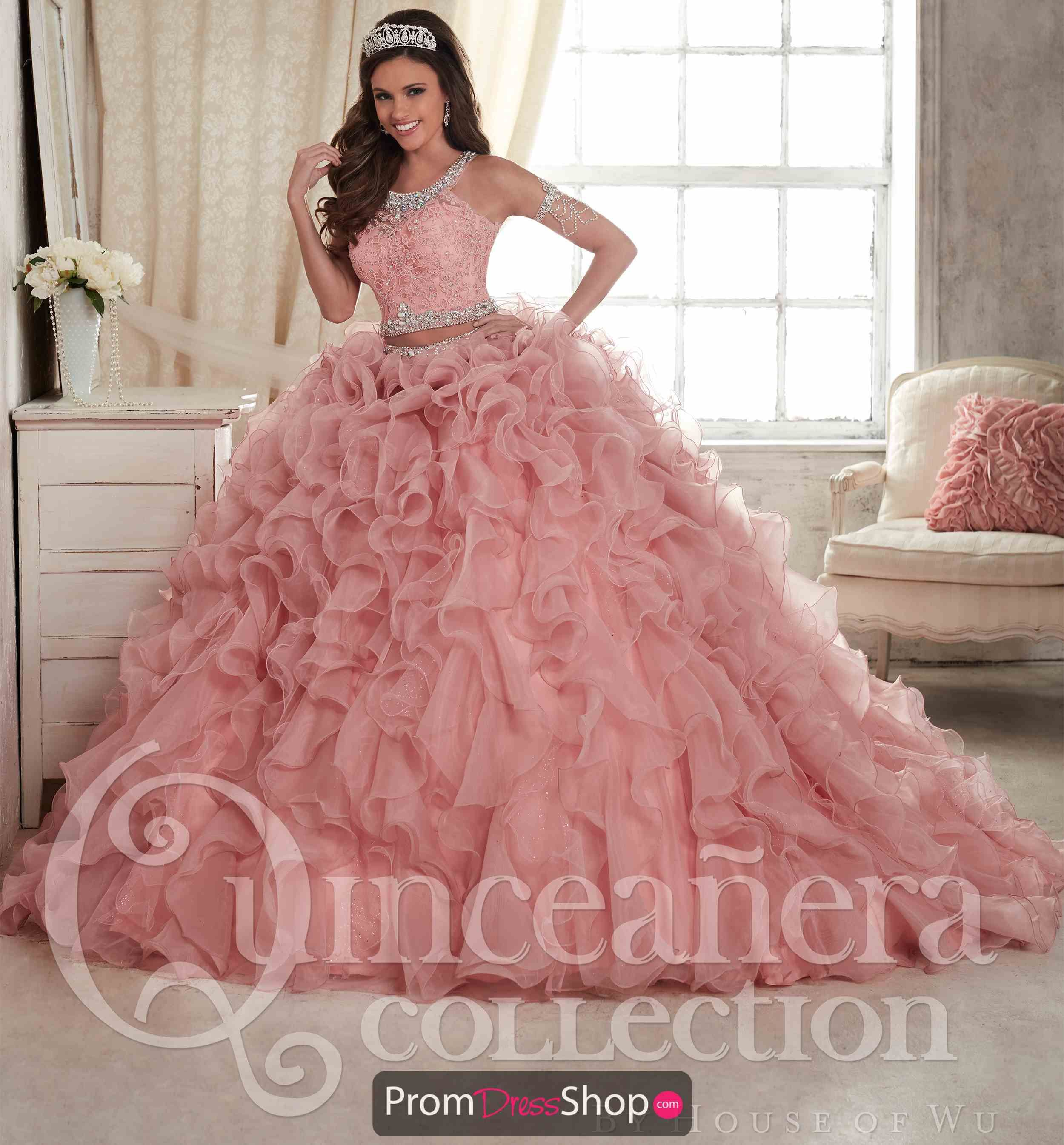 22fb92df49b Tiffany Quinceanera Two Piece Ball Gown 26813 in 2019