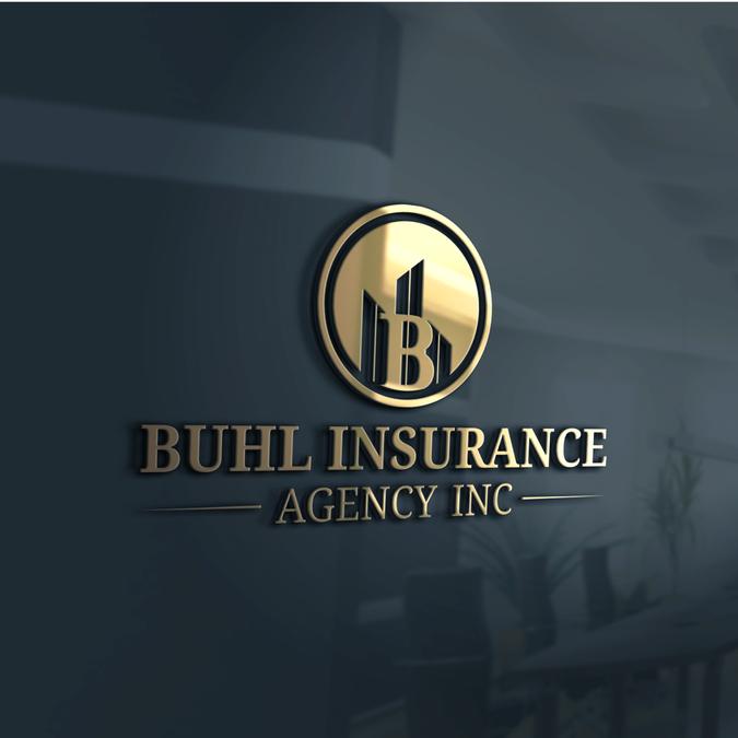 Insurance Agency Logo By Pethel Business Logo Design Small Business Logo Personal Business Cards