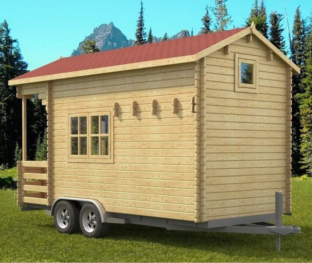 Allwood pioneer tiny towable kit project small house