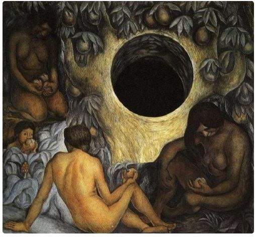 """The Abundant Earth"" - Diego Rivera."