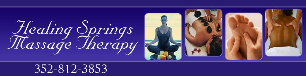 Therapeutic Massage - Ocala, FL - Healing Springs Massage ...