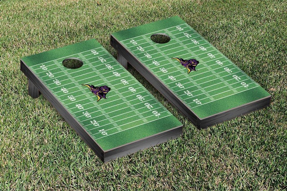 Minnesota State University, Mankato Mavericks Football Field Cornhole Board Set