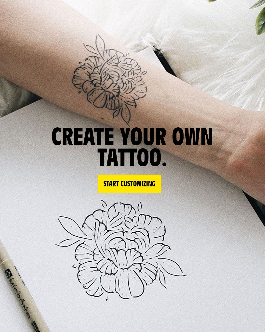 Inkbox Offers Tattoos That Last 1 2 Weeks And Look Real Design