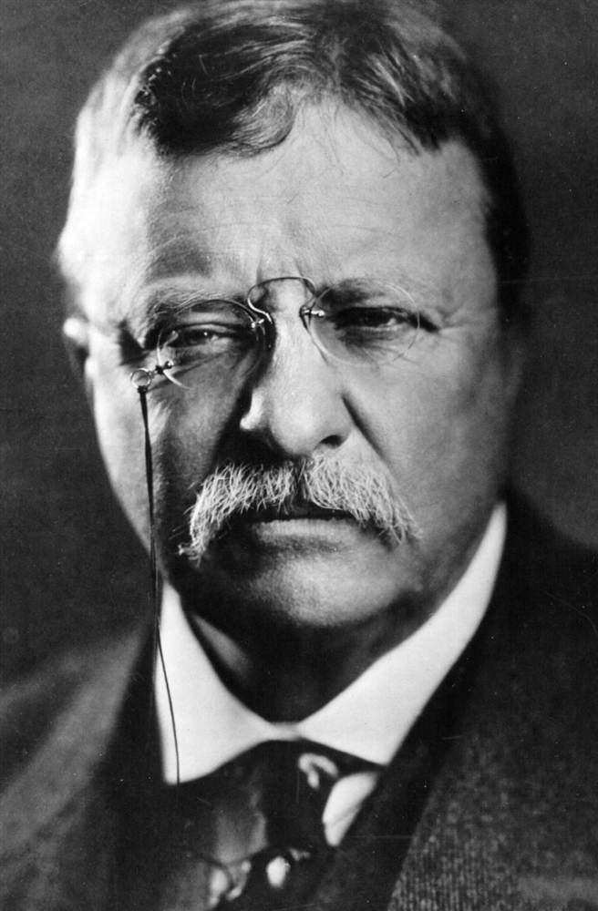 U.S. Theodore Roosevelt (1858 - 1919), 26th President of the United States,
