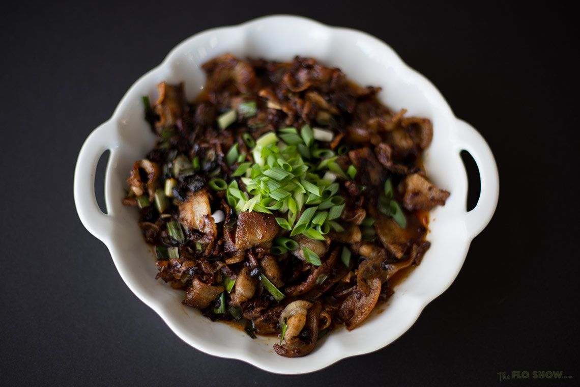 Sichuan twice cooked pork ⋆ The Flo Show .com