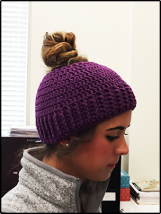beanie with ponytail hole 38517591ae8