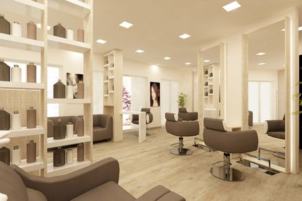 Arredamento per parrucchieri saloni di parrucchieri nel for Arredamento per parrucchieri