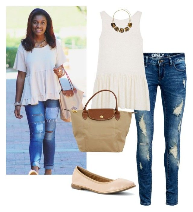 """""""That's me btw"""" by thepinkcatapillar on Polyvore featuring ONLY, Report, Longchamp and Miss Selfridge"""