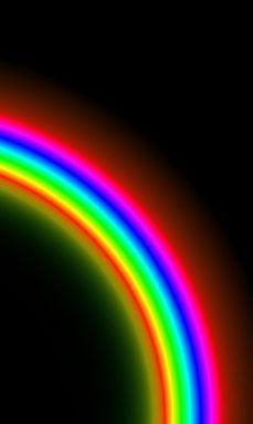 Dark Rainbow Rainbow Wallpaper Rainbow Aesthetic Neon Wallpaper