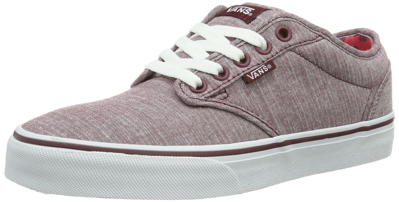 Vans W ATWOOD (CHECKER HEART), Damen Sneakers, Rot ((Checker