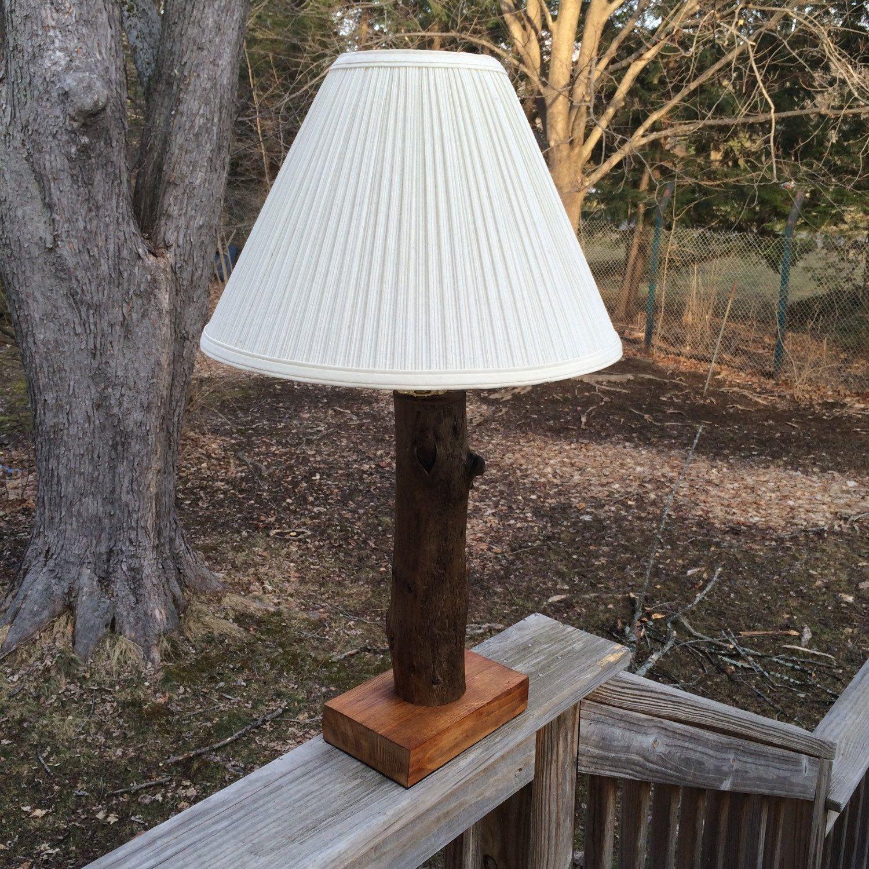 Driftwood Table Lamp!! Driftwood, Reclaimed, Handmade, Lighting, Beach,  Maine