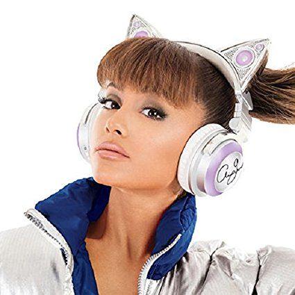ariana grande edition limit e casque audio oreille de chat bluetooth sans fil avec haut. Black Bedroom Furniture Sets. Home Design Ideas