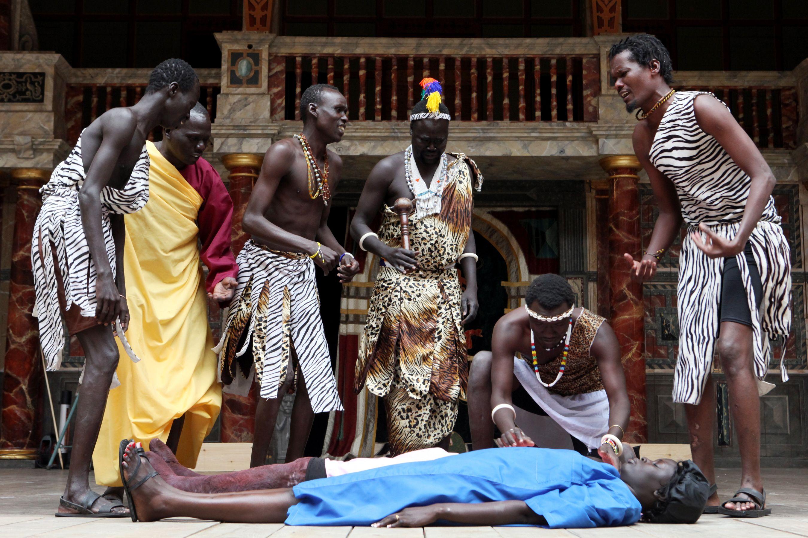 Cymbeline  The South Sudan Theatre Company  Performed in Juba Arabic     (C) Ellie Kurttz