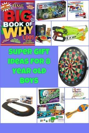 Awsome Gifts Ideas For 8 Year Old Boys