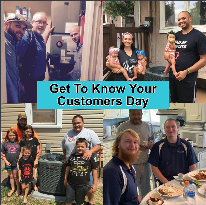 Today is Get To Know Your Customers Day! At Logan Services