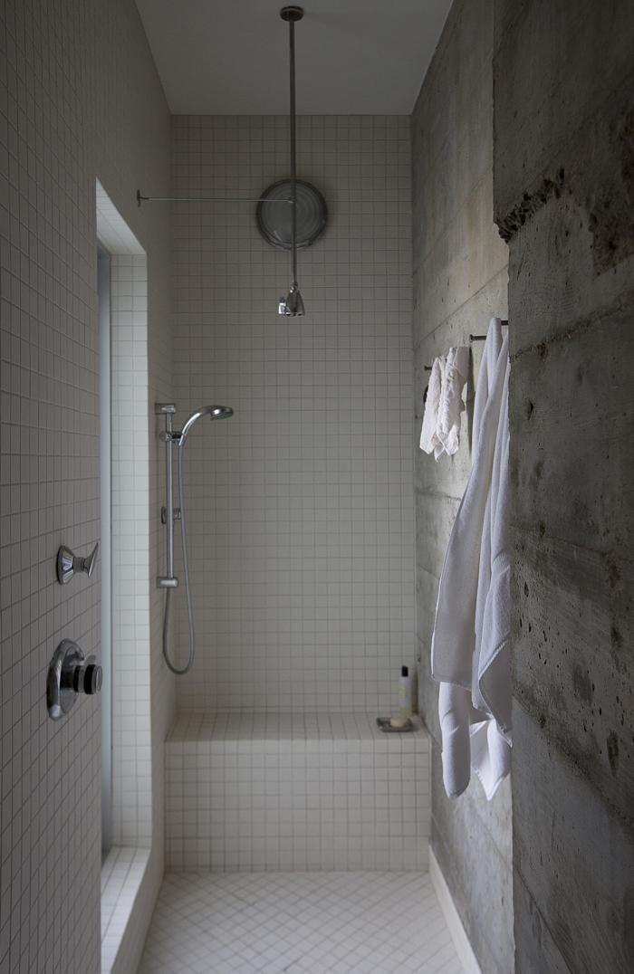 Baño gresite blanco de 5x5 cm | Baños de Gresite - Bathrooms made ...