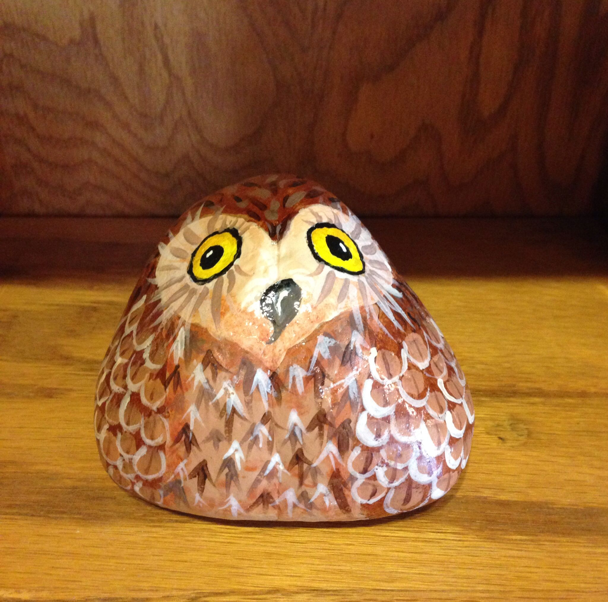Lovely Lucy Rock Owl