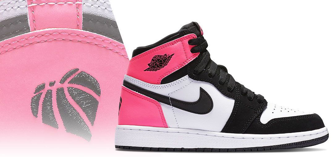 is she obsessed with shoes then gift her pink jordans for girls by nike