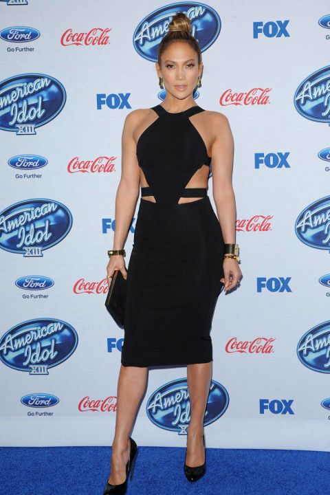 In Cushnie Et Ochs at the American Idol XIII finalists party in February 2014.