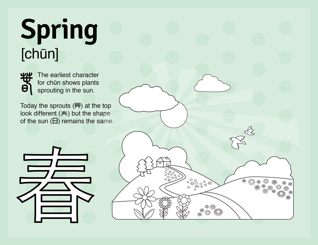 Learn Spring In Mandarin