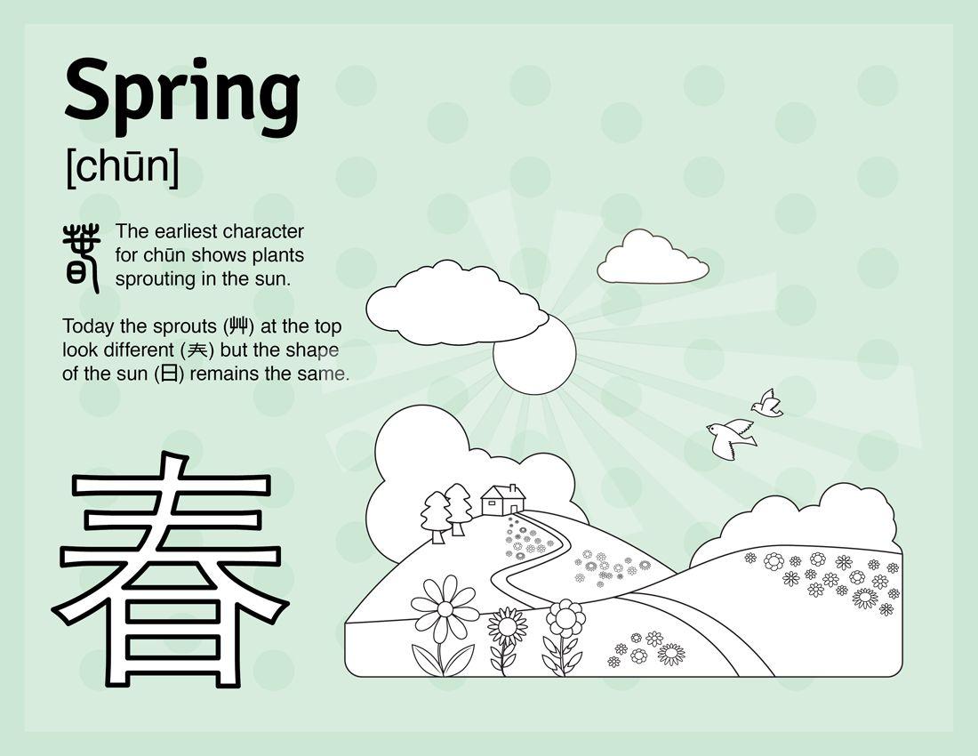 Learn Spring In Mandarin