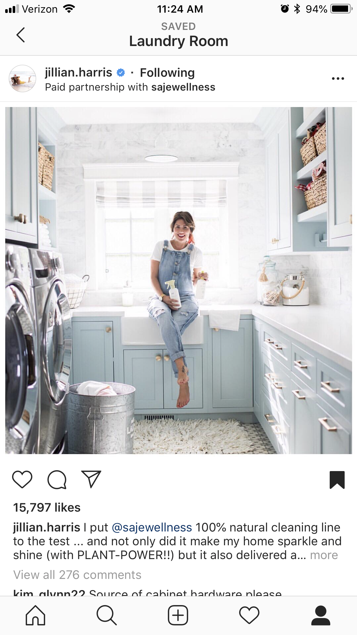 Idea By Colby Elizabeth On Laundry Room House And Home Magazine Spring Cleaning Jillian Harris