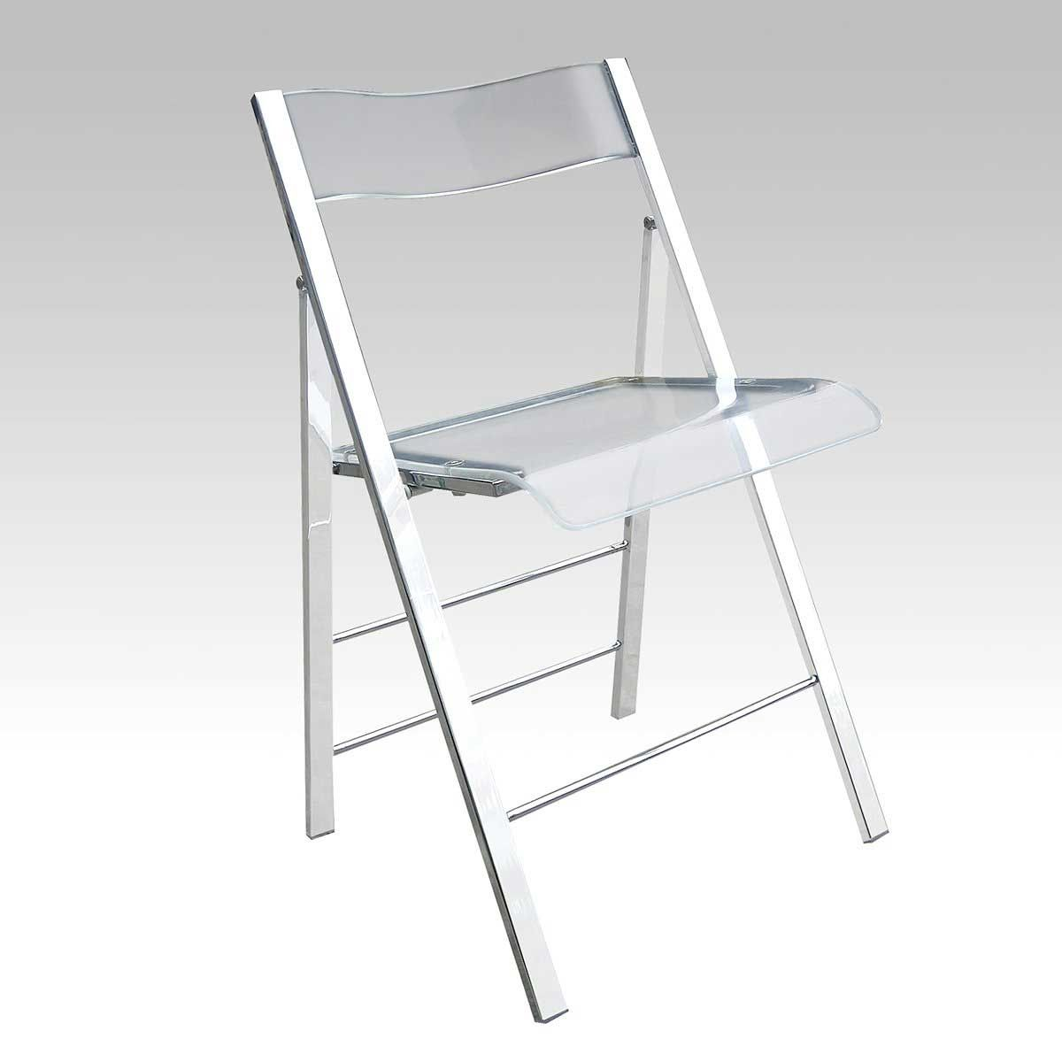 White plastic folding chairs - Clear Plastic Folding Chairs