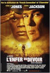 L'enfer du devoir (Rules of engagement) : Film britannique, canadien, allemand et américain - avec : Tommy Lee Jones, Samuel L. Jackson - 2000