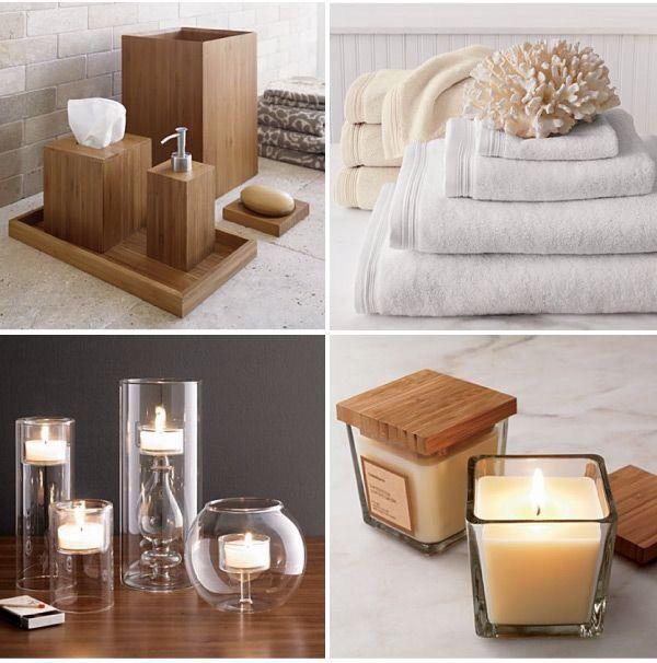 Bamboo Spa Bathroom Accessories