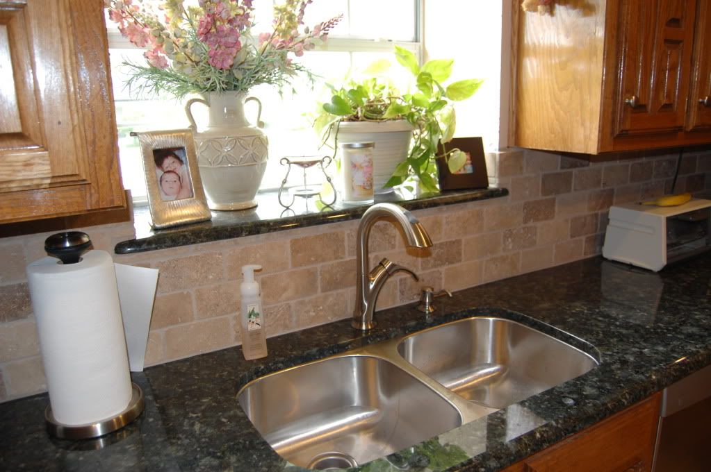 Consider Putting A Matching Piece Of Granite In The Window Kitchen Window Sill Kitchen Design Window Sill Decor