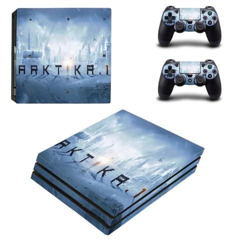 Arktika 1 Ps4 Pro Skin In 2020 Ps4 Slim Console Ps4 Slim Console