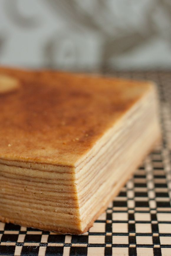 Indonesian Layer Cake #recipe I just read a book about Indian cooking in which the long history of this dessert was discussed.