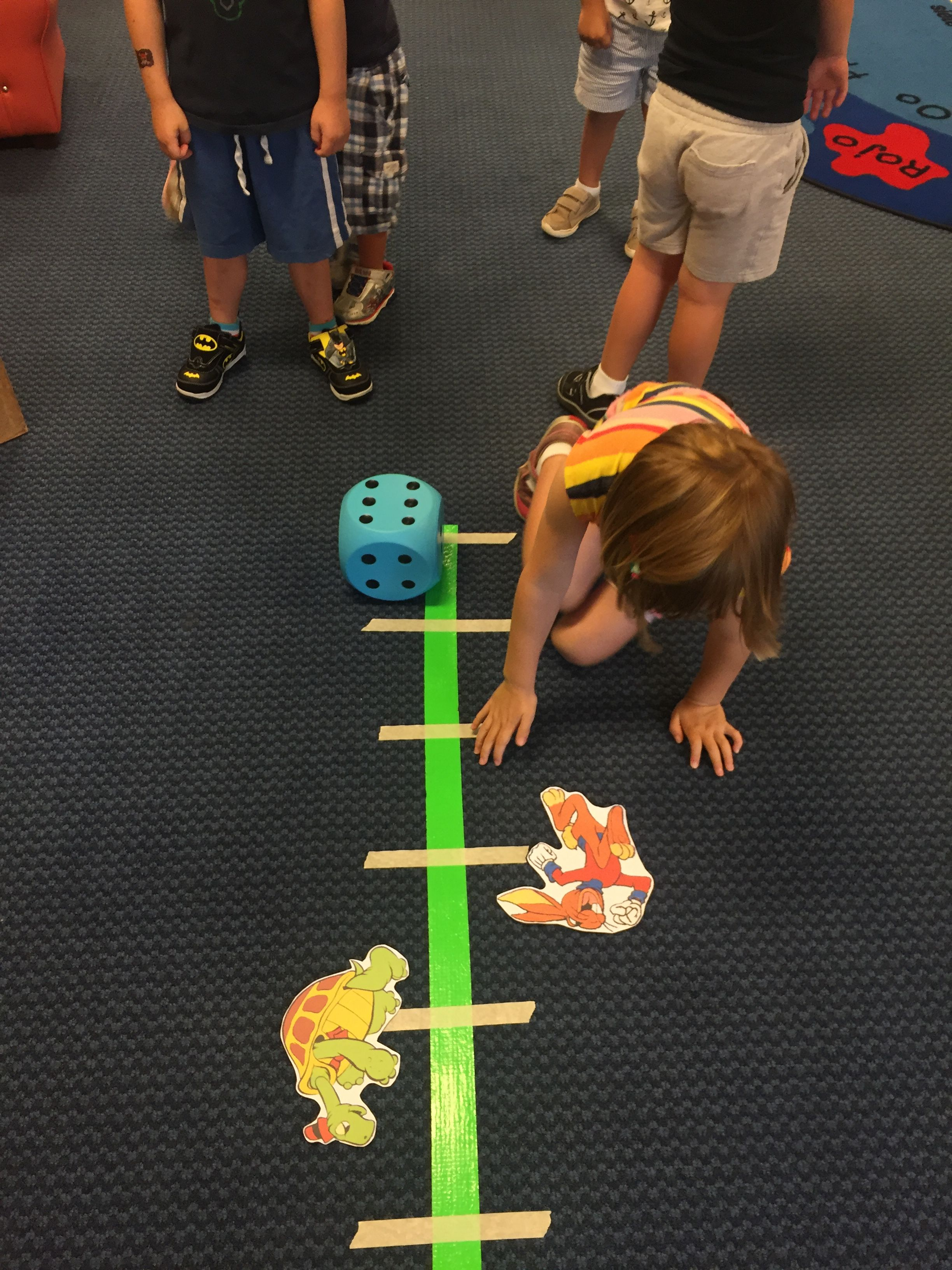Tortoise And The Hare Activity Separate The Class Into
