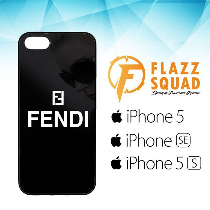 Fendi Logo Case For Iphone 5