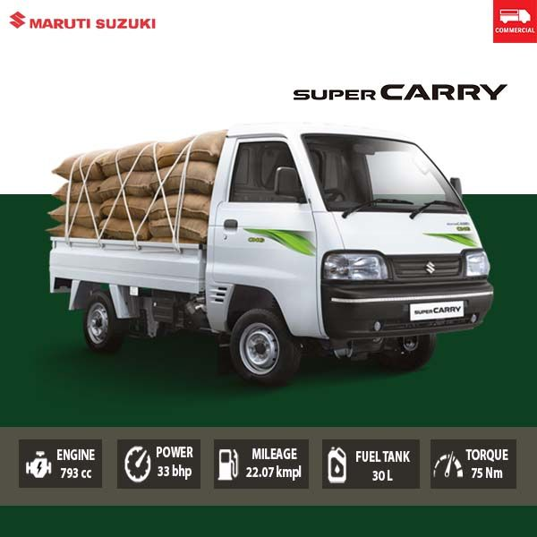 Maruti Super Carry Is A Diesel Pick Up Truck From The Country S Most Successful Car Seller It Belongs To The Category Of An En In 2020 Super Carry On Utility Vehicles
