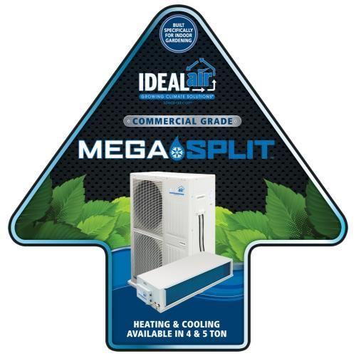 Ideal Air Mega Split Floor Sticker 24 In X 24 In Floor Stickers