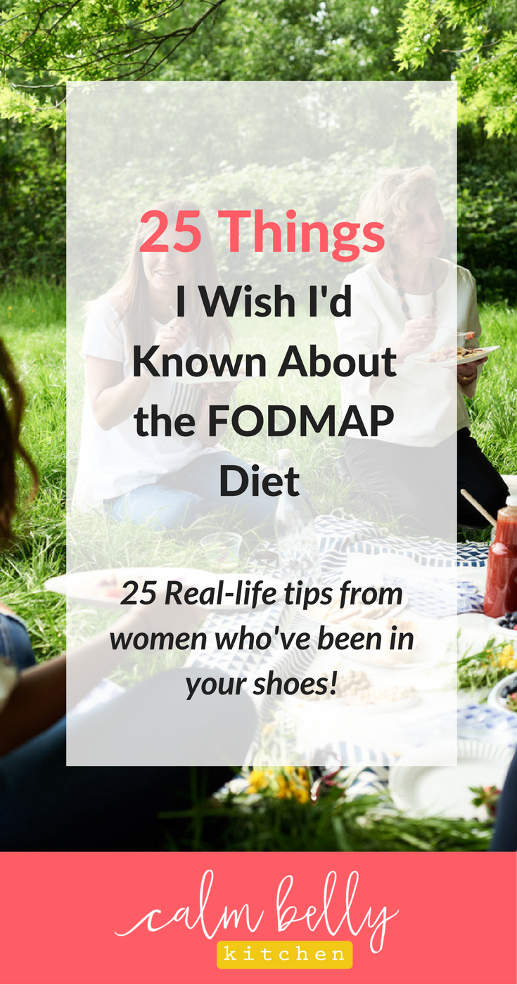 If youre new to the FODMAP Diet, this post is a must-read! I asked my community what they wish someone had told them when they