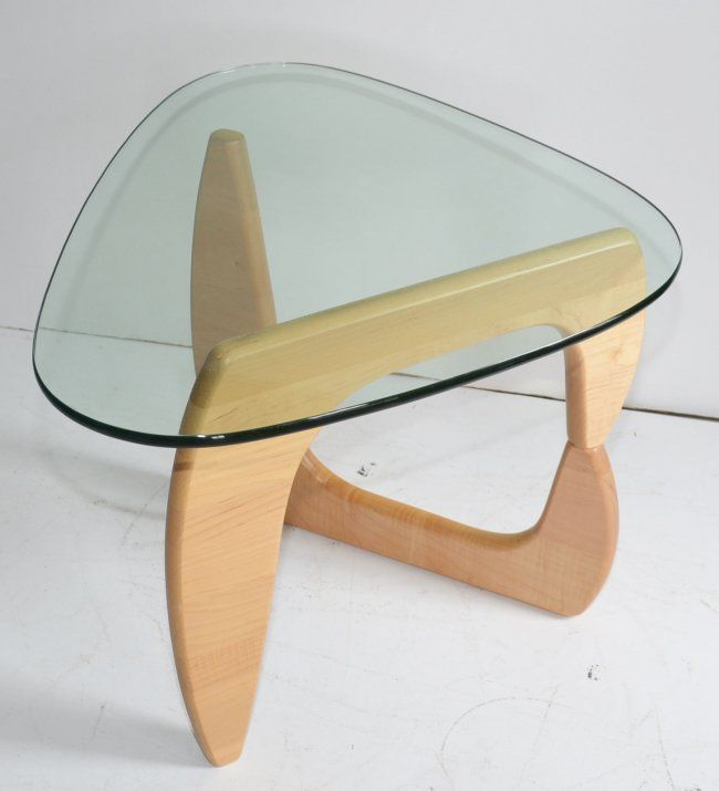 Noguchi Style Small Side Table Jun 28 2013 Applebrook Auctions Estate Sales In Ct Diy Furniture