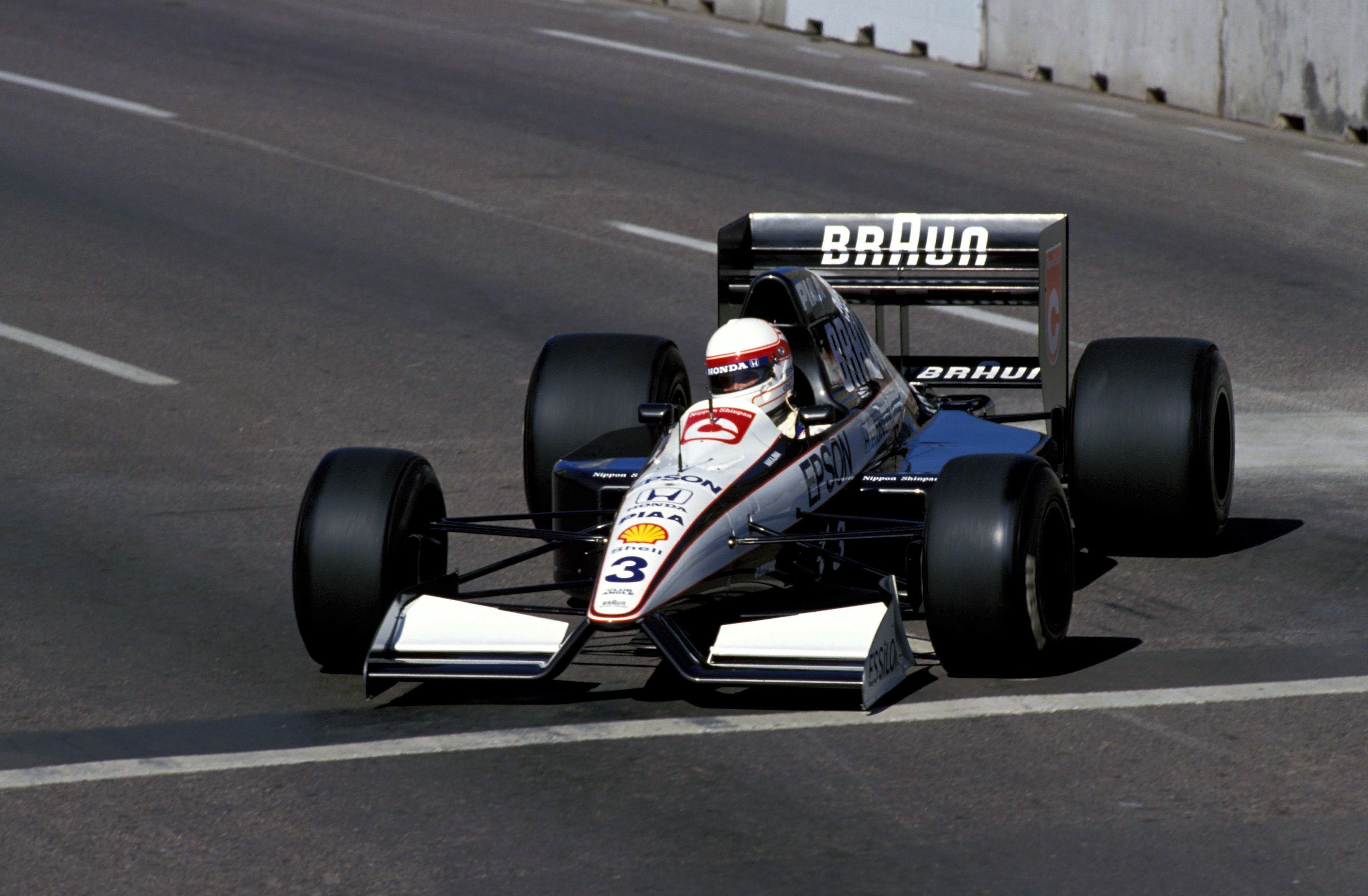Image result for tyrrell honda 1991