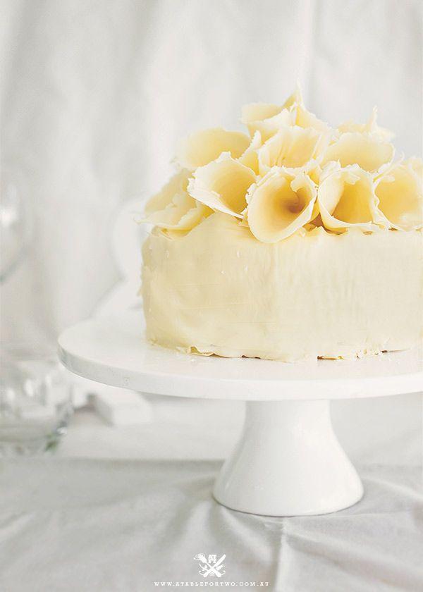 white-chocolate-mousse-cake | Chocolate Wedding Cakes | Pinterest ...
