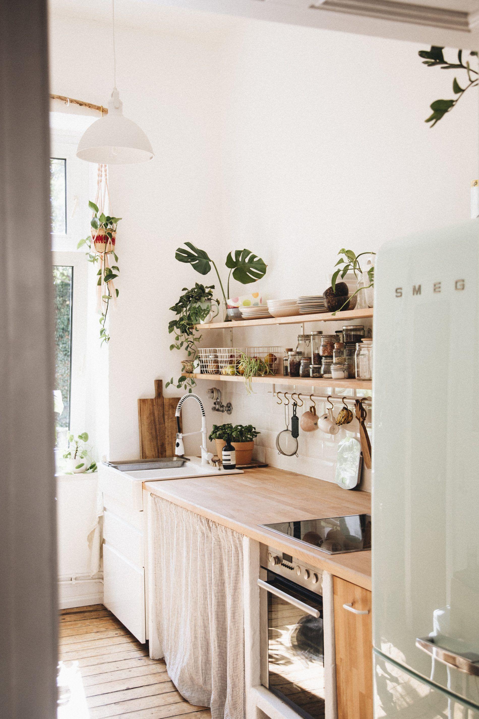 Un intérieur bohème plein de plantes (avec images)  Cuisines deco