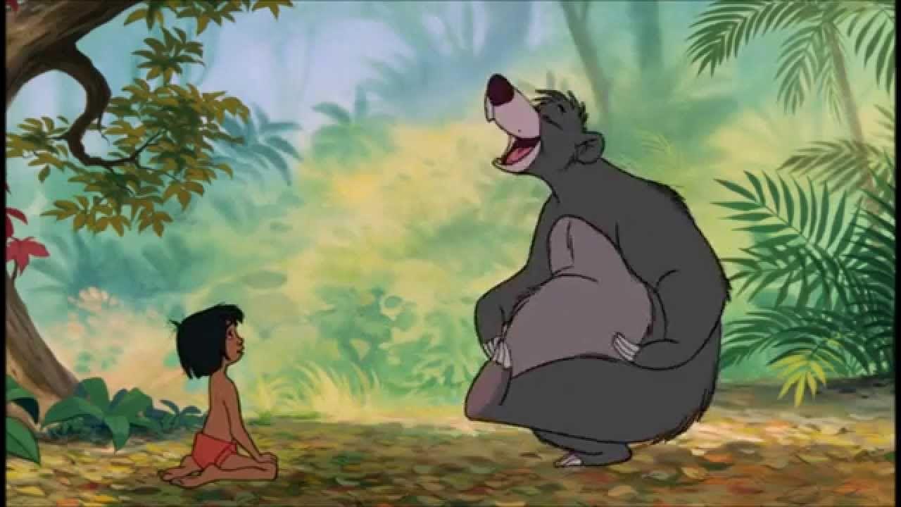 Baloo And Mowgli Wiggle It Videos Smile Fun Laugh