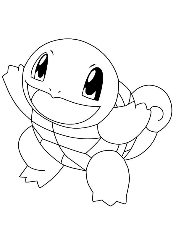 print coloring image Pokemon