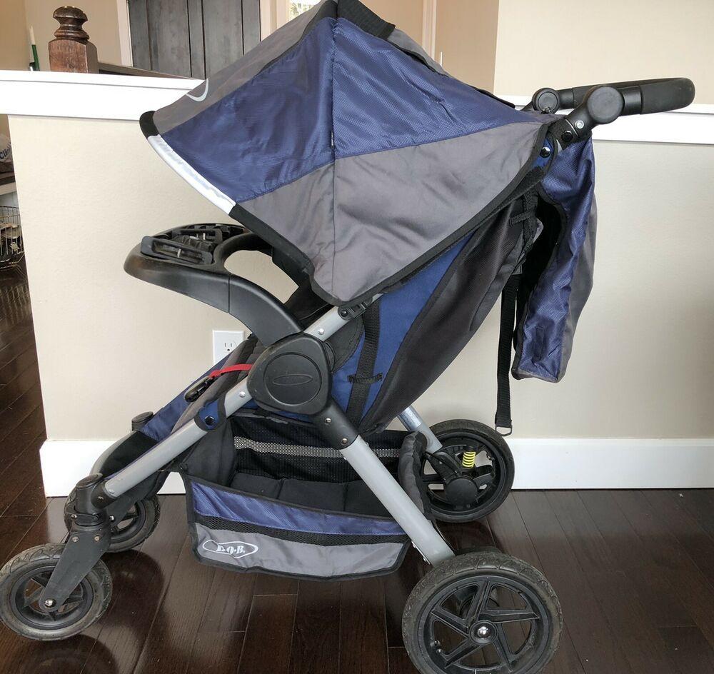 Bob Motion Stroller Foldable Lightweight W Britax Click Go Adapter Black Stroller Blackstroller Stroller 45 00 0 Stroller Baby Car Seats Bob Stroller