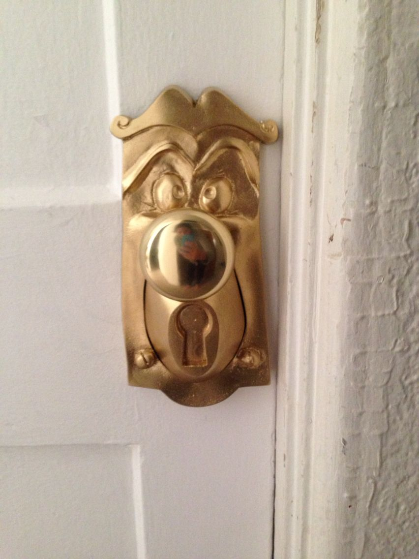 Alice in wonderland baby nursery door knob. | Hush little baby ...
