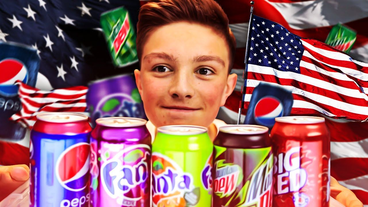 British Trying American Soda Soda Fizzy Fizzy Drink