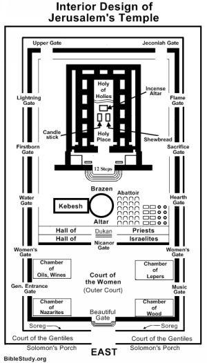 Interior Design Of Jerusalem S Temple Temple Solomons Temple Solomon S Temple