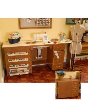 Beautiful Bertha Sewing Machine Cabinet