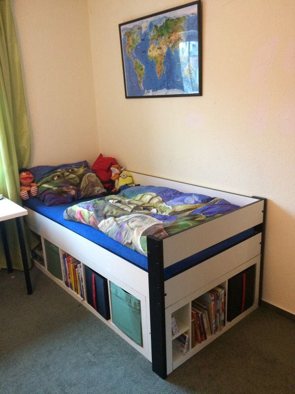 Top Ikea Hack - DIY Kinderbett mit viel Stauraum   Pinterest ...